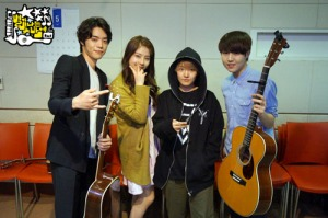 Eddy, Juniel, Younha, Yoo Seungwoo